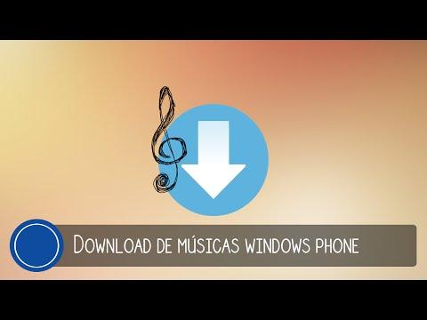 Melhor App para baixar músicas Windows Phone.