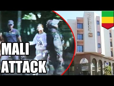 Mali hotel attack: 80 escape as Islamist gunmen hold 170 people hostage - TomoNews