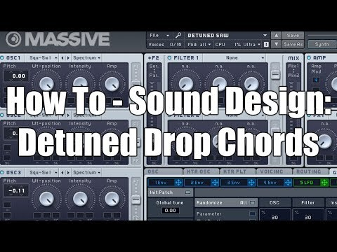 How To - Sound Design: Detuned Drop Chords
