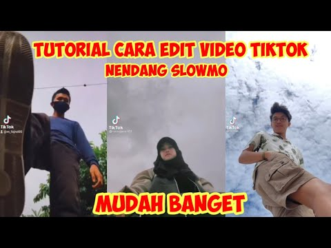 Tutorial Cara Edit Video Tendangan Slowmo Aesthetic Viral Tiktok