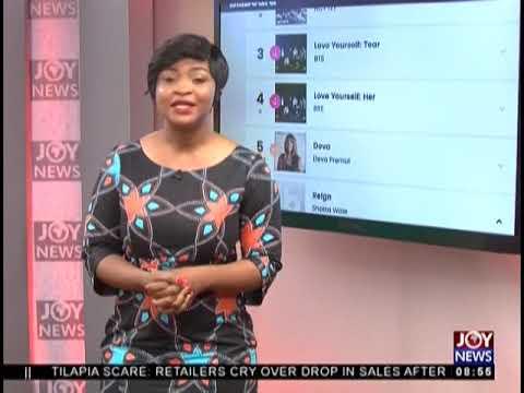 'Reign' makes it to number six on Billboard World Album Chart - AM Showbiz  on JoyNews (25-10-18)
