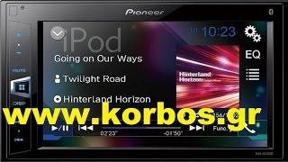 Pioneer Mvh-av290bt 2 Din Multimedia for Skoda www.korbos.gr