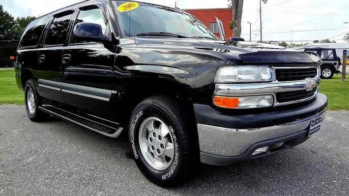 2003 Chevrolet Suburban 1500 Youtube