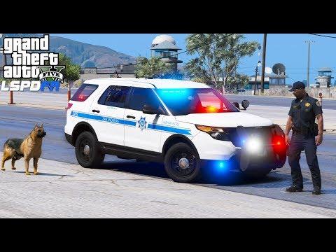 GTA 5 LSPDFR #568 | State Police K9 Unit Patrol | Live Stream