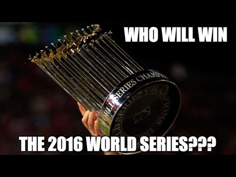 Teams most likely to win the 2016 world series youtube