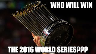 8 Teams Most LIkely to Win the 2016 World Series