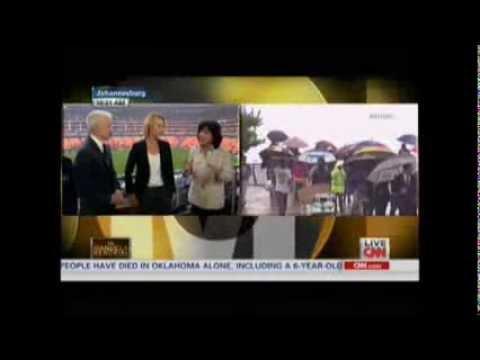 Nelson Mandela Memorial - CNN Coverage