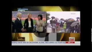 Nelson Mandela Memorial - CNN Coverage