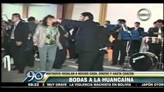 Bodas a la Huancaína: Invitados regalan a novios casas , dinero y hasta chacras