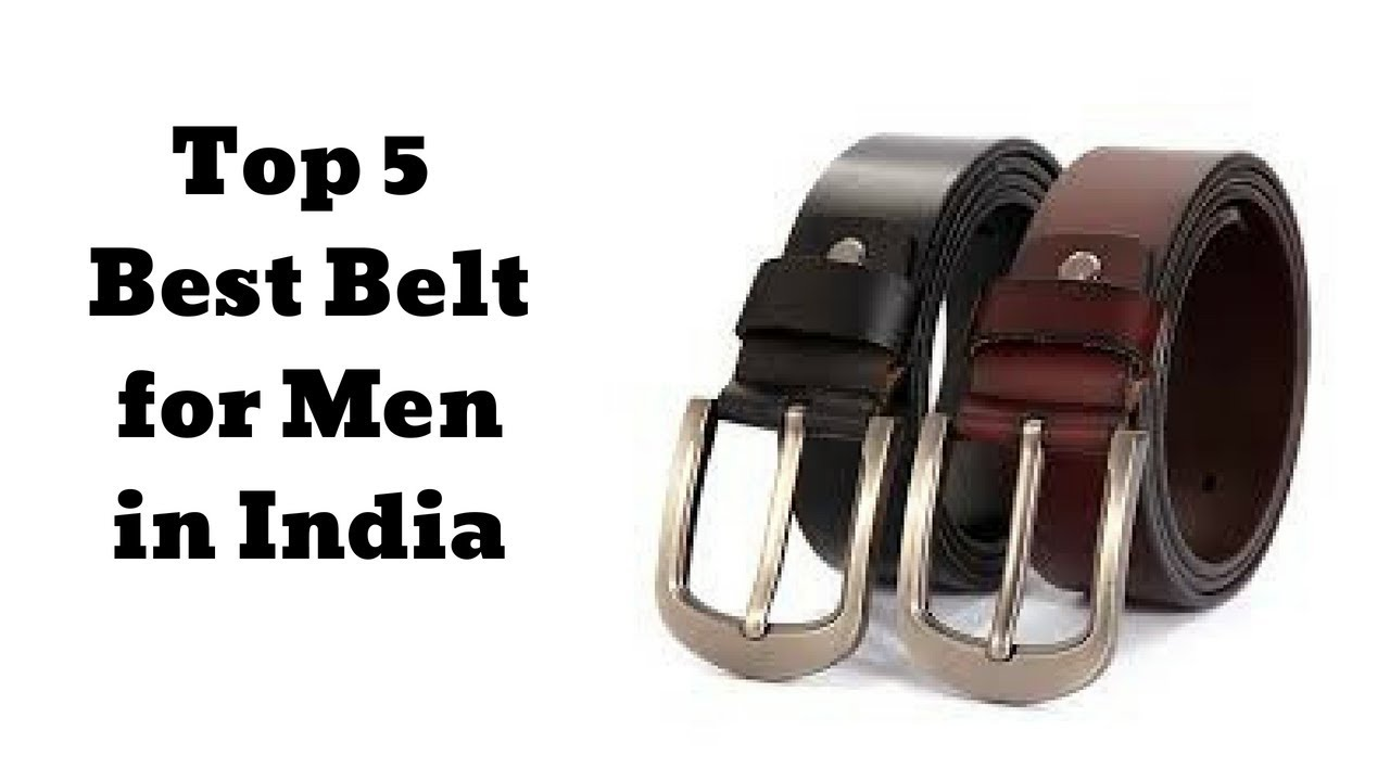 8f561086d Top 5 Best Belt for Men in India at Lowest Price Online 2019 - YouTube