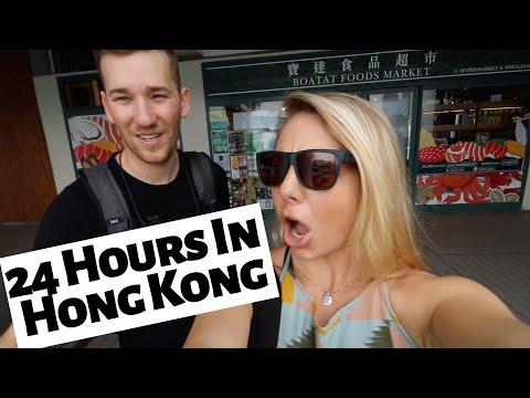 HONG KONG SIGHTSEEING • 24 Hour Layover Day in Hong Kong