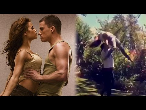 Channing Tatum & Jenna Dewan Recreate Step Up Dance For 10-Year Anniversary