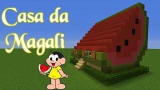 MINECRAFT -  Tour Pela Casa da Magali
