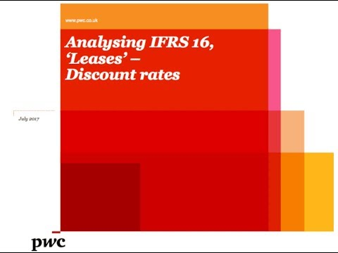 PwC's Analysing IFRS 16 Leases - 9. Discount rates