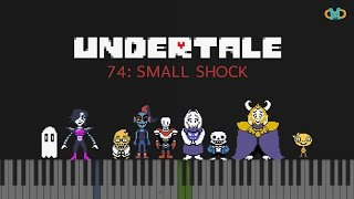 Undertale - 074: Small Shock [Piano Tutorial] (Synthesia)
