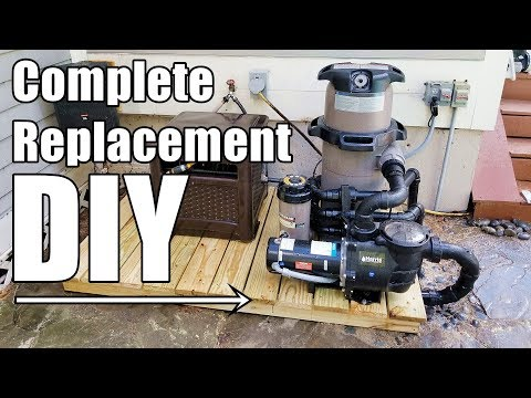 How-To Completely Replace Pool Equipment; Harris Pump/Hayward Filter