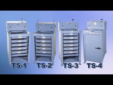 Gilson Testing Screens (TS-1, TS-2, TS-3, TS-4)
