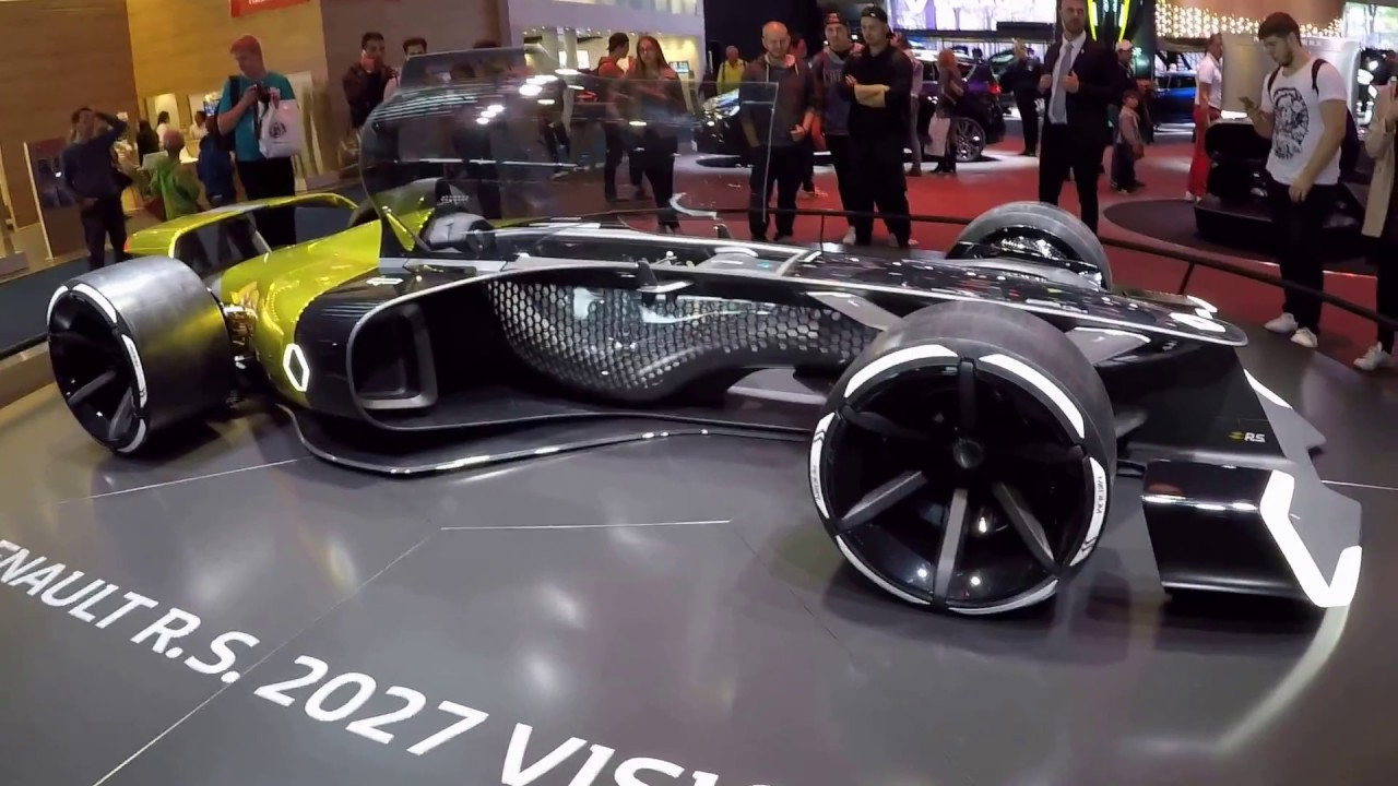 RENAULT F1 R.S. 2027 VISION FORMULA 1 RACING CONCEPT CAR ! WALKAROUND ! - YouTube