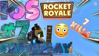 Very VERY Close Game! - IOS Gameplay#7 | Rocket Royale screenshot 3