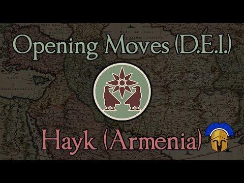Opening Moves 2: Hayk (Armenia) Total War: Rome 2 (DEI Mod 1.2.4)