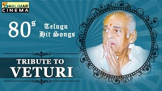 A Tribute to Veturi  || Telugu 80s Golden Hit Songs || Best Collection Video Jukebox