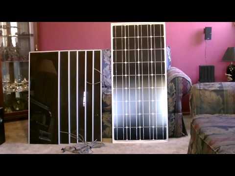 solar-panel-comparison---(100w-monocrystalline-vs.-45w-harbor-freight-set)---with-battery-info.