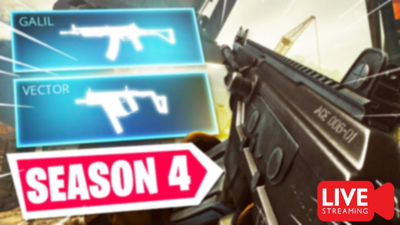 SEASON 4 IS HERE !!!!! NEW WEAPONS, NEW BATTLE PASS **** CALL OF DUTY WARZONE