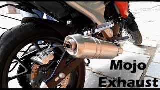 mojo exhaust sound with without db killers
