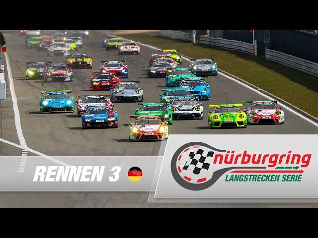 LIVE: Rennen 3 Nürburgring Langstrecken-Serie 2021 (NLS)