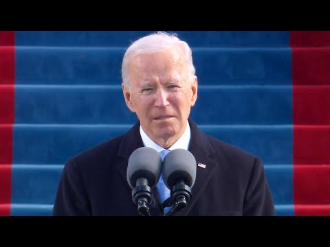 President Joe Biden Preaches Unity in Inaugural Speech President Joe Biden called for healing and unity in a moving speech at his inauguration after he was sworn in. He asked all Americans, especially the ones who ..., From YouTubeVideos