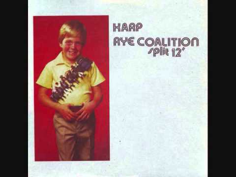 Karp/Rye Coalition - Split LP