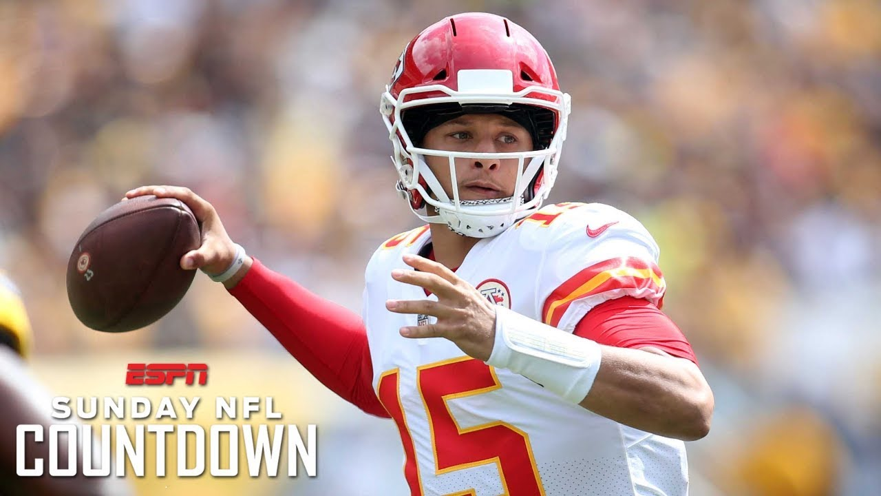 The Making Of Kansas City Chiefs Qb Patrick Mahomes Nfl Countdown Espn