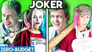 JOKER & HARLEY QUINN WITH ZERO BUDGET! (MOVIE PARODY)
