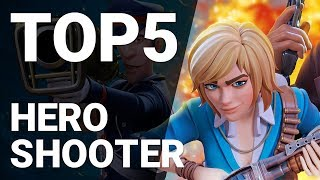 Top 5 Hero Shooter Games for Android 2019 [1080p/60fps]