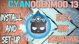 Cyanogenmod 13(Lineage OS 13) Samsung Galaxy Note 4 N910C International: Install and Set Up The Rom