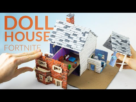 A Fortnite Doll House With Clay! (Fortnite Battle Royale)