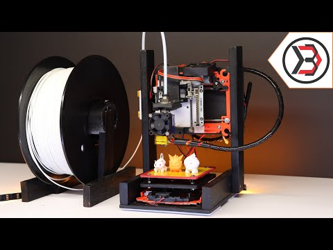 How To Make DIY Arduino Mini 3D Printer From DVD Writer