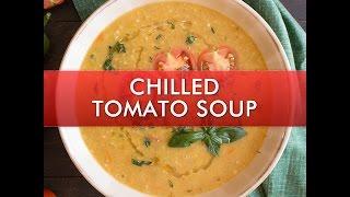 Chilled Tomato Soup - Chili Pepper Madness