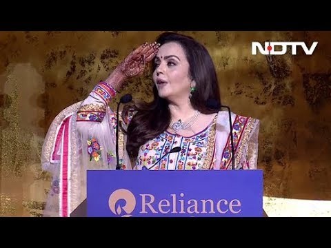 Mukesh And Nita Ambani Celebrate Akash-Shloka Wedding With Armed Forces