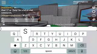 Play a bloc and hide (roblox)