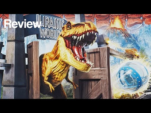 Jurassic World Tyrannosaurus Lockdown Playset Review