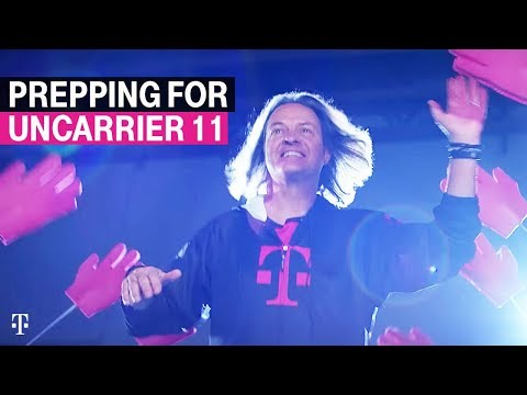 T-Mobile CEO John Legere fully embraces his cartoon ego in this montage