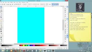 How to draw sun inkscape
