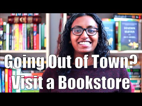 Going Out of Town? Visit a Bookstore!