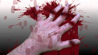 Fingers Cut Off with Knife - Bloody Mess, Grotesque, Horror - After Effects