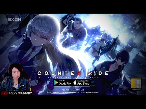 Rilis jg ini game !!! Counter:Side (KR) Android RPG - 동영상