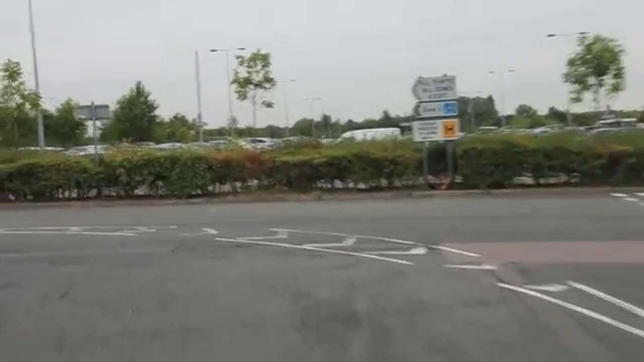 Directions To London Stansted Airport Mid Stay Car Park Youtube