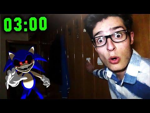 GECE 3'TE IŞIKLARI AÇIP KAPATMA DENEYİ SONİC GELDİ !! (Light Out Sonic Exe)
