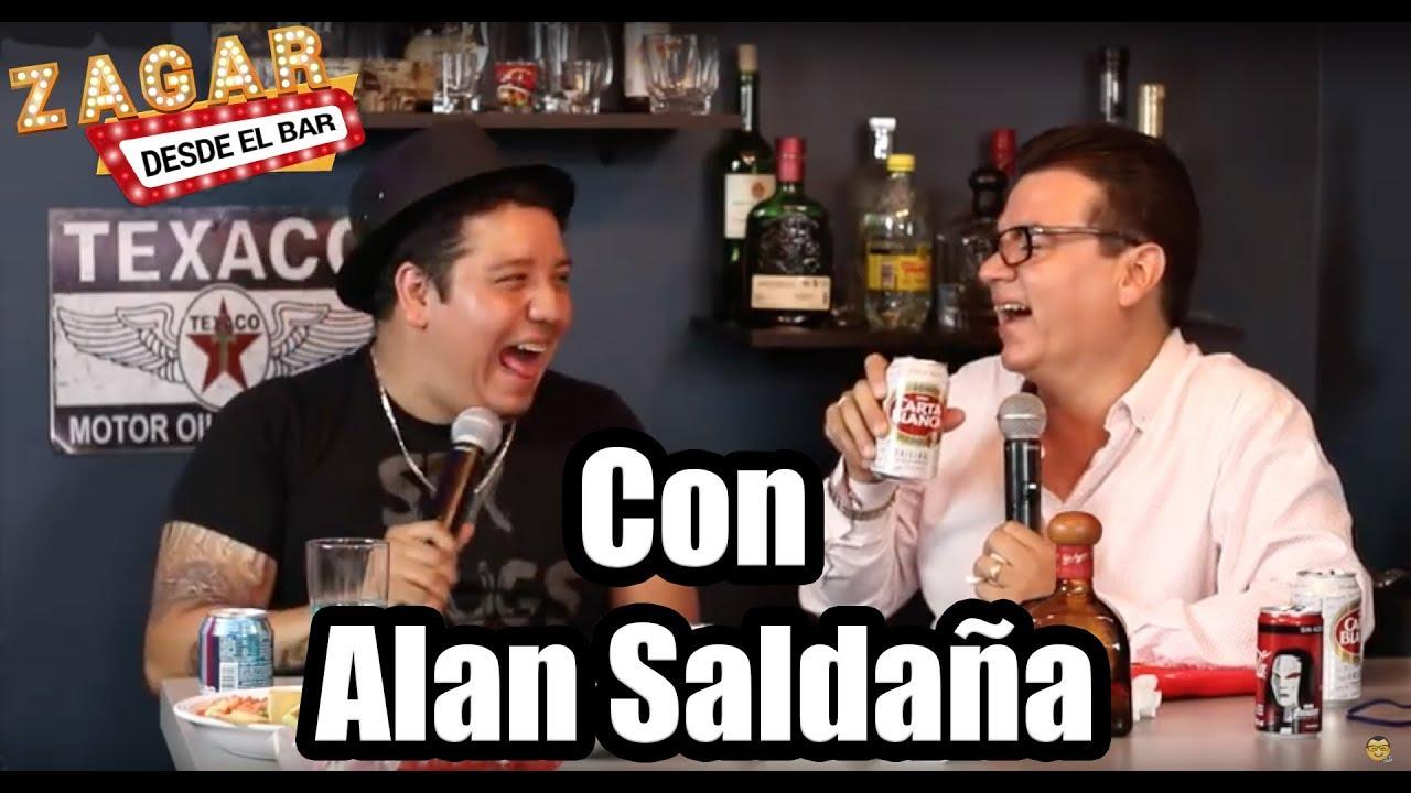 Zagar desde el Bar con Alan Saldaña - YouTube
