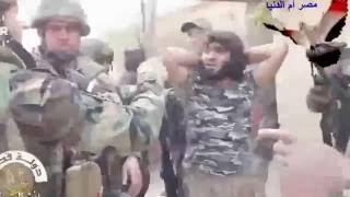 لحظة القبض على داعشي شمال الموصل.mp4